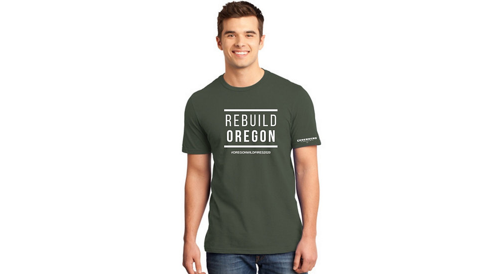 REBUILD OREGON TEE