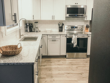 Bachelor Pad Kitchen Remodel