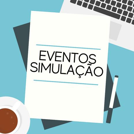 EVENTOS SIMULAÇÃO 2021/1