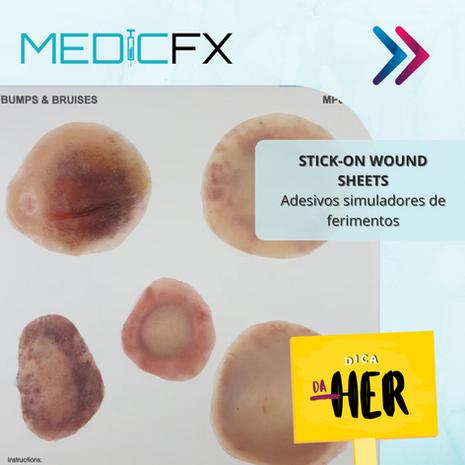 MEDICFX: ADESIVOS SIMULADORES DE FERIMENTOS