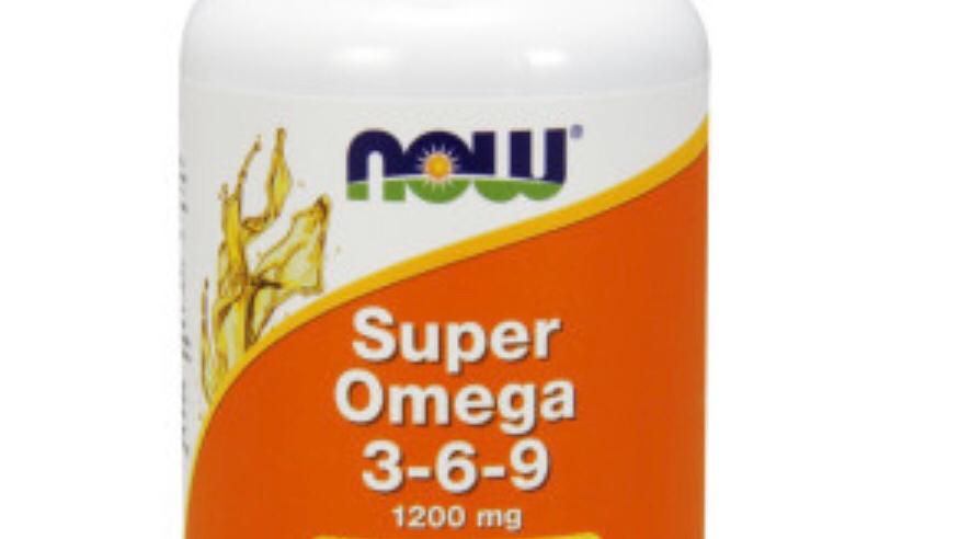 NOW Foods Super Omega 3-6-9, 90 softgels