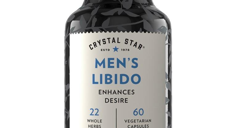 Crystal Star Men's Libido 60 VegCaps