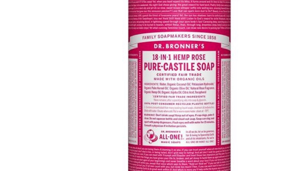 Dr. Bronner's 18 in 1 pure castle soap