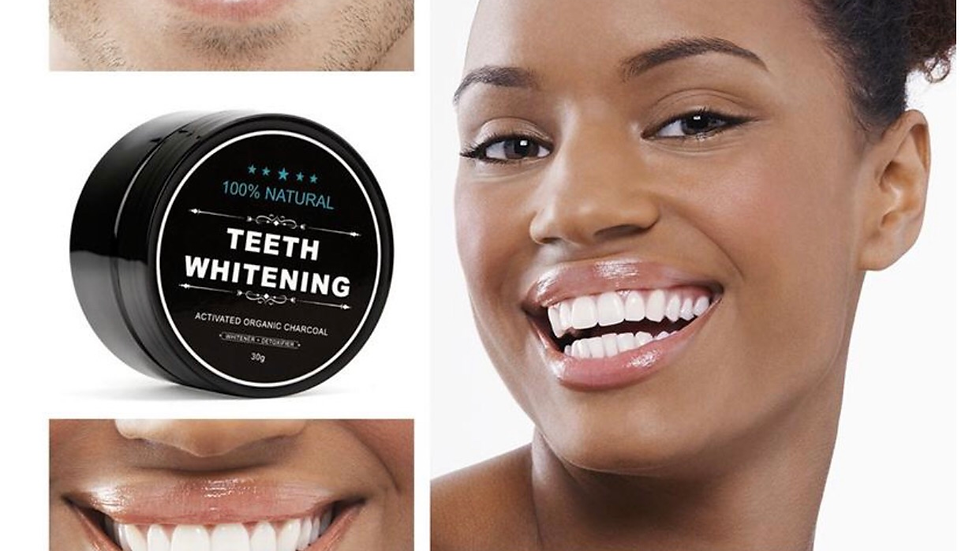 Actived Coconut Charcoal Teeth Whitening Powder