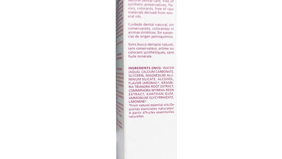 Ratanhia Toothpaste, 3.3 fl oz