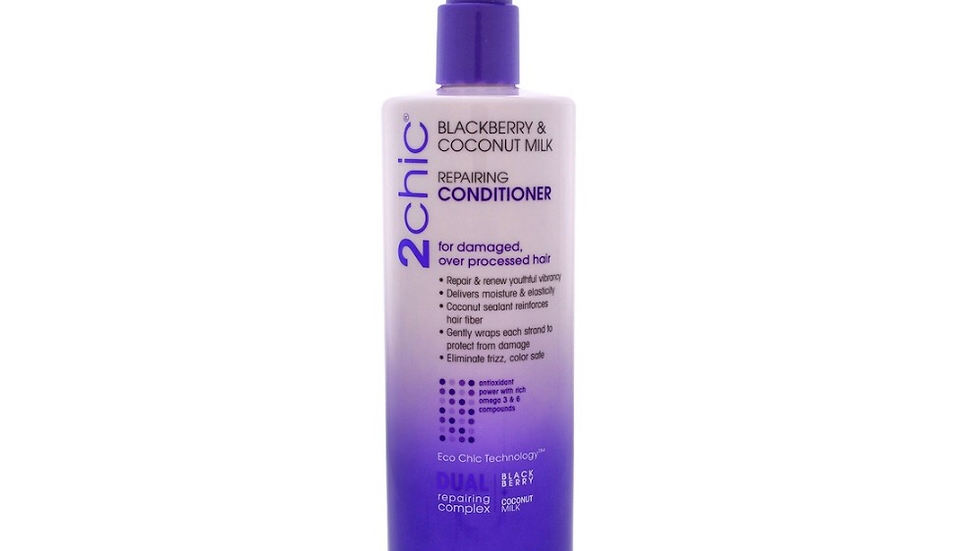 Giovanni to Sheik blackberry  and coconut milk repairing leave in conditioner