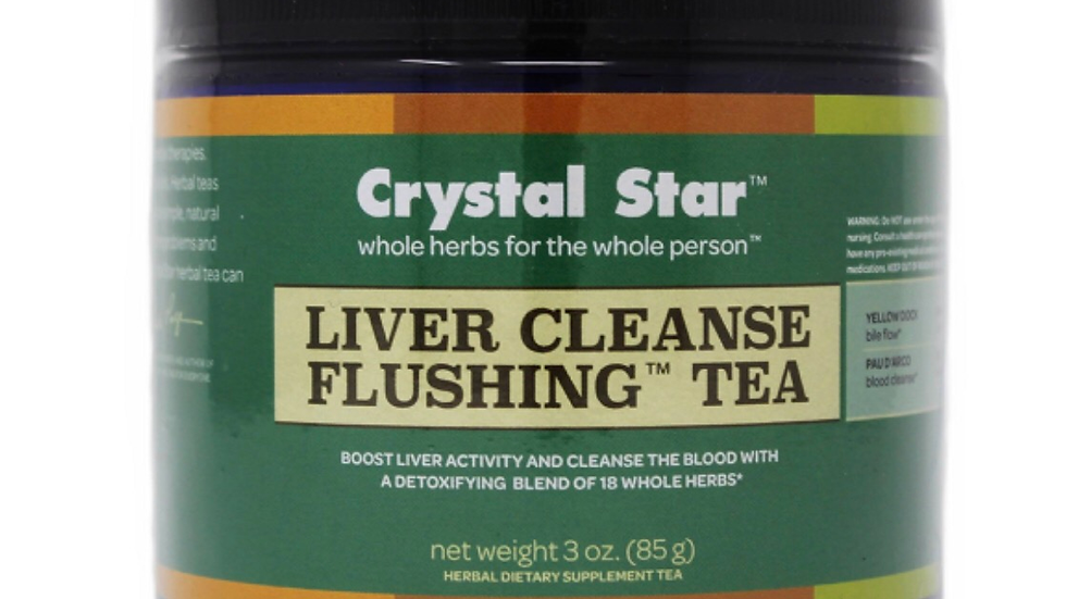 Liver Cleanse Flushing Tea Crystal Star 3 oz