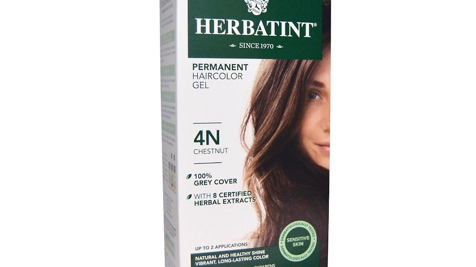 Herbantint Permanent hair color gel