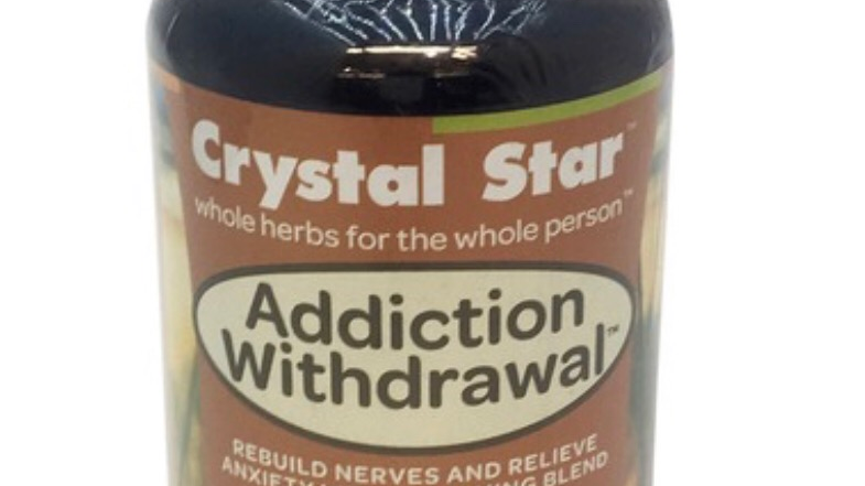 Crystal Star Addiction Withdrawal 60 ct