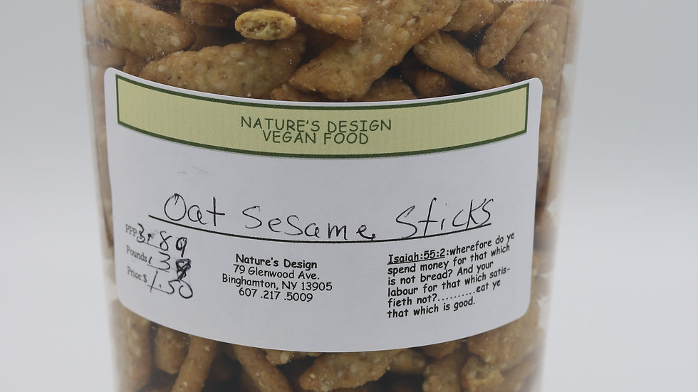 Oat Sesame Stick (.35 lb)