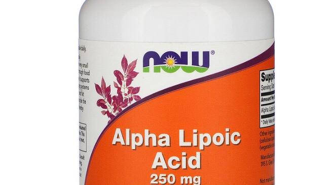 Alpha Lipoic Acid, 250 mg, 120 Veg Capsules