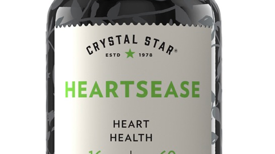 Crystal Star Heartsease 60 Capsules