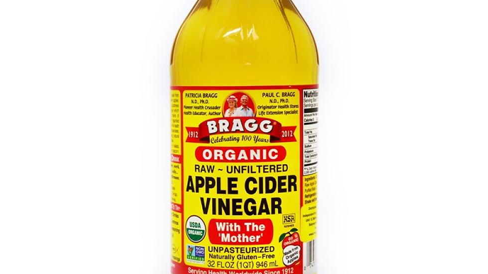 Raw Unfiltered Apple cider Vinegar (32 oz)