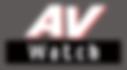 AV Watch Japan Website
