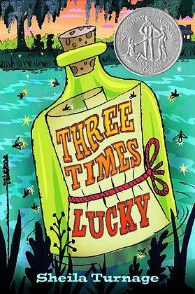 Three Times Lucky (Newbery Honor Book)