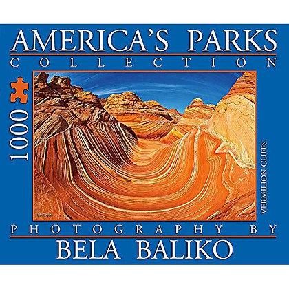 America's Parks Vermilion Cliffs 1000 Piece Puzzle