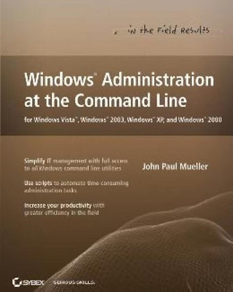 Windows Administration At The Command