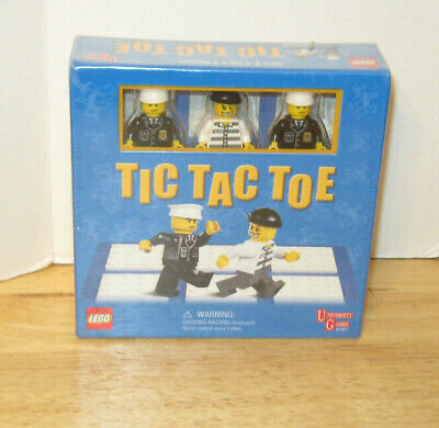 University Games ~ Lego Tic Tac Toe Cops and Robbers