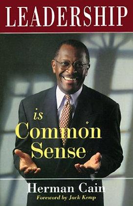 SIGNED COPY - Leadership Is Common Sense