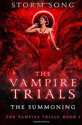 Vampire Trials: The Summoning: A Reverse Harem Fantasy Novel (The Vampire Trials