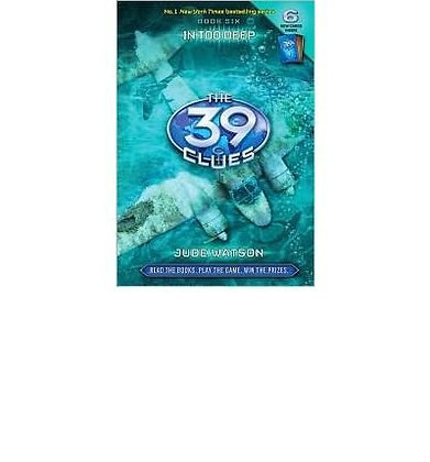 Set Of Two 39 Clues Books, In Too Deep & Vespers Rising