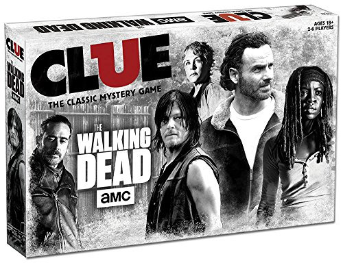 USAOPOLY AMC The Walking Dead Clue Gam