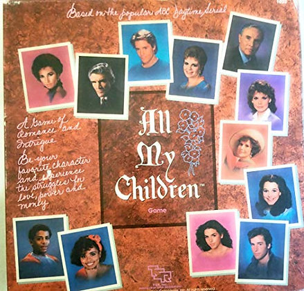 All My Children Game: Based on the Popular ABC Daytime Serial (1985)