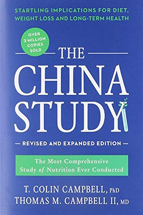 American West Books The China Study Revised Expanded Edition, 1 Ea