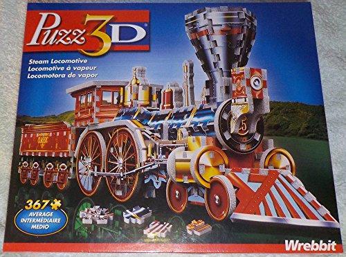 Puzz 3d Puzzle Steam Locomotive 367 Pieces
