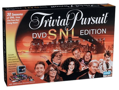 Trivial Pursuit: Snl Saturday Night Live Dvd Edition Game(For Adult)