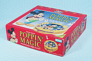 VTG Mickey's Poppin' Magic Game Parker Brothers 1991
