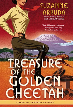 Treasure Of The Golden Cheetah: A Jade Del Cameron Mystery