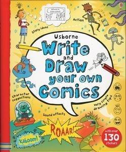 Usborne Books Write & Draw Your Own Comics