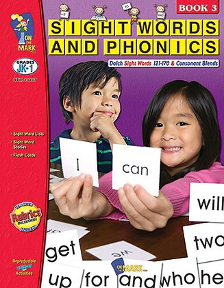 Sight Words Phonics Book 3 Gr Pk-1
