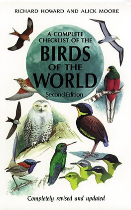 A Complete Checklist of Birds of the World, Second Edition