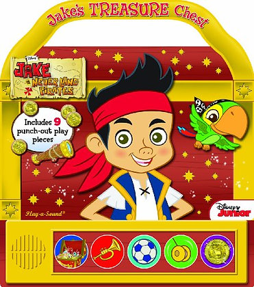 Disney Jake and the Neverland Pirates: Jake's Treasure Chest: Play-a-Sound (Jake