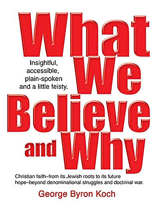 What We Believe and Why: An insightful, accessible, plain-spoken (and a little b