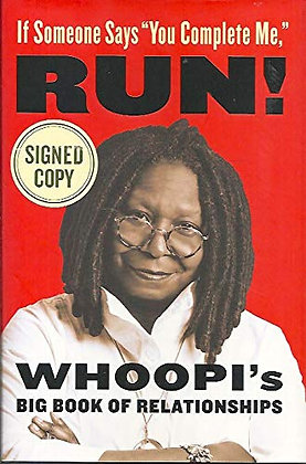 SIGNED COPY - Whoopi's Big Book Of Relationships