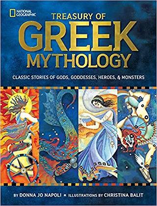 Treasury of Greek Mythology: Classic Stories of Gods, Goddesses, Heroes & Monste