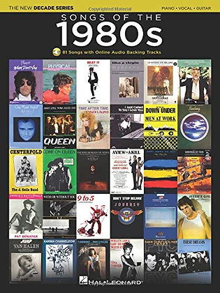 Songs Of The 1980S: The New Decade Series With Online Play-Along Backing Tracks