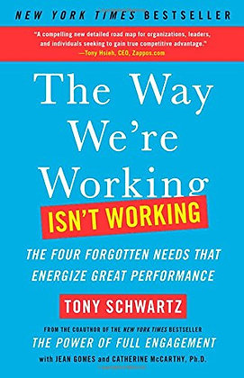 The Way We're Working Isn't Working: The Four Forgotten Needs That Energize Grea
