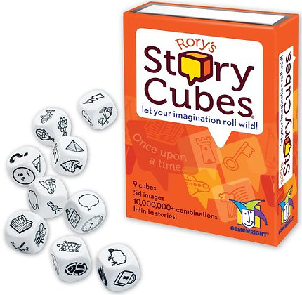 Rory's Story Cubes _ Bundle of 4 IDENTICAL Games