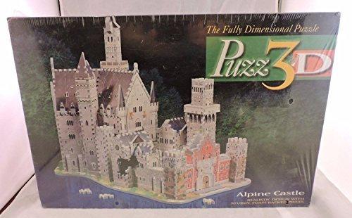 Puzz 3d Puzzle Alphine Castle 1000 Pieces