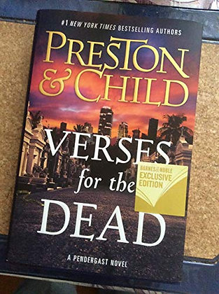 Verses For The Dead (Agent Pendergast Series, 18)