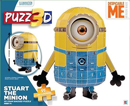 3D Despicable Me Minion Puzzle