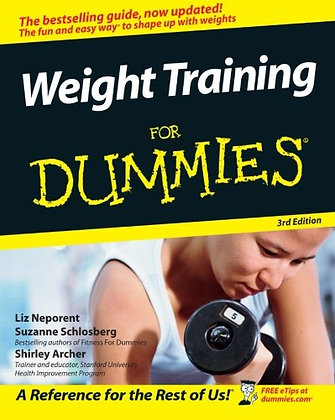 Weight Train for Dummies 3rd Edition