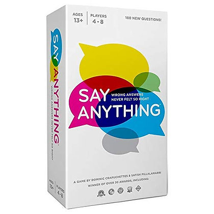 Say Anything Board Game | Card Game with Fun Get to Know Questions