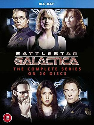 Battlestar Galactica: The Complete Series [Blu-ray] [Region-Free]