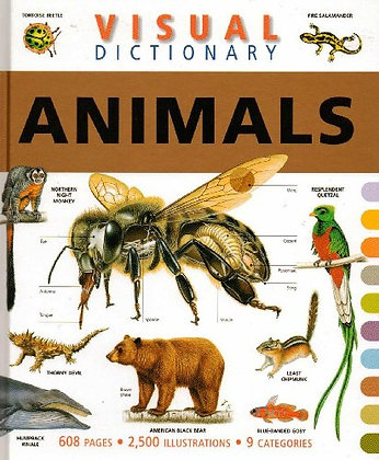 Visual Dictionary of Animals