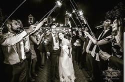 ⚠️ W A R N I N G ⚠️ Sparkler Exit ✨ Rule #1 _ Do not light the bride's dress on fire